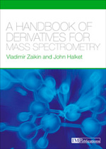 Cover of A Handbook of Derivatives for Mass Spectrometry