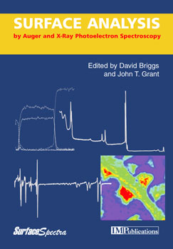 Surface Analysis by Auger and X-Ray Photoelectron Spectroscopy Cover